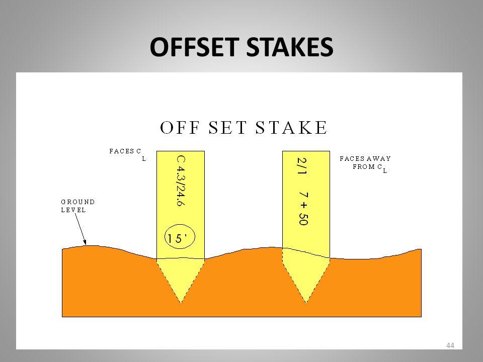 OFFSET STAKES 44