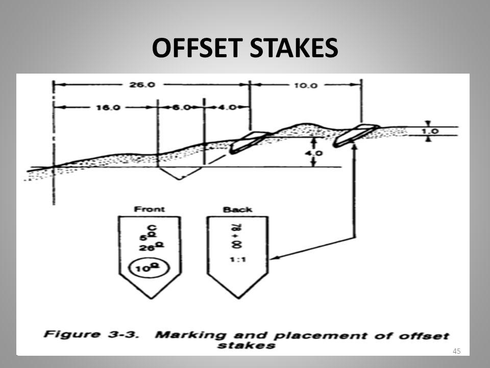 OFFSET STAKES 45