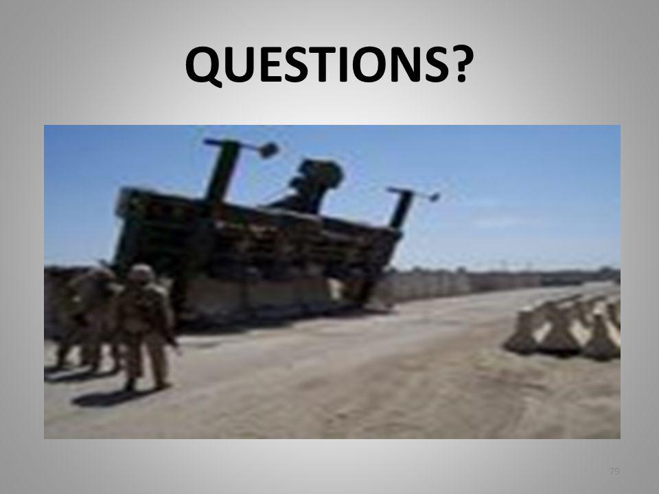 QUESTIONS? 79