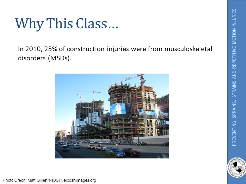 What Are Musculoskeletal Disorders (MSDs).