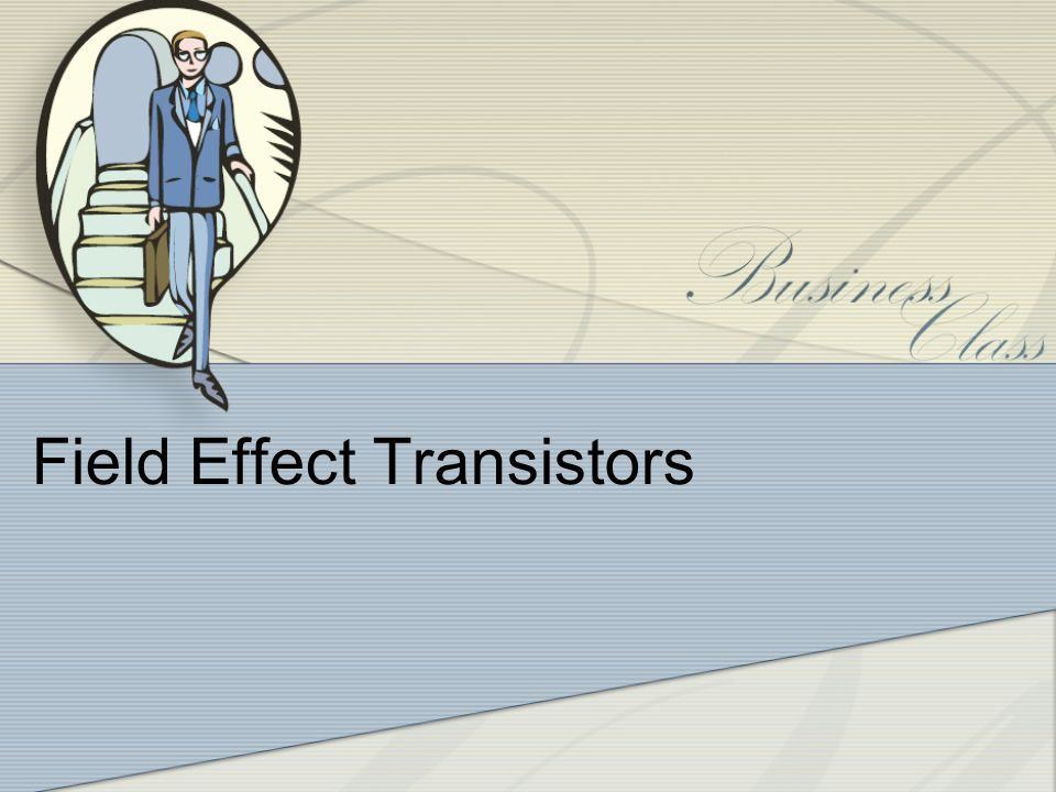 Introduction Two main types of FET: - JFET –Junction field effects transistor -MOSFET – Metal oxide semiconductor field effect transistor -D-MOSFET ~ Depletion MOSFET -E-MOSFET ~ Enhancement MOSFET Similarities: -Amplifiers -Switching devices -Impedance matching circuits Differences: - FETs are voltage controlled devices whereas BJTs are current controlled devices.