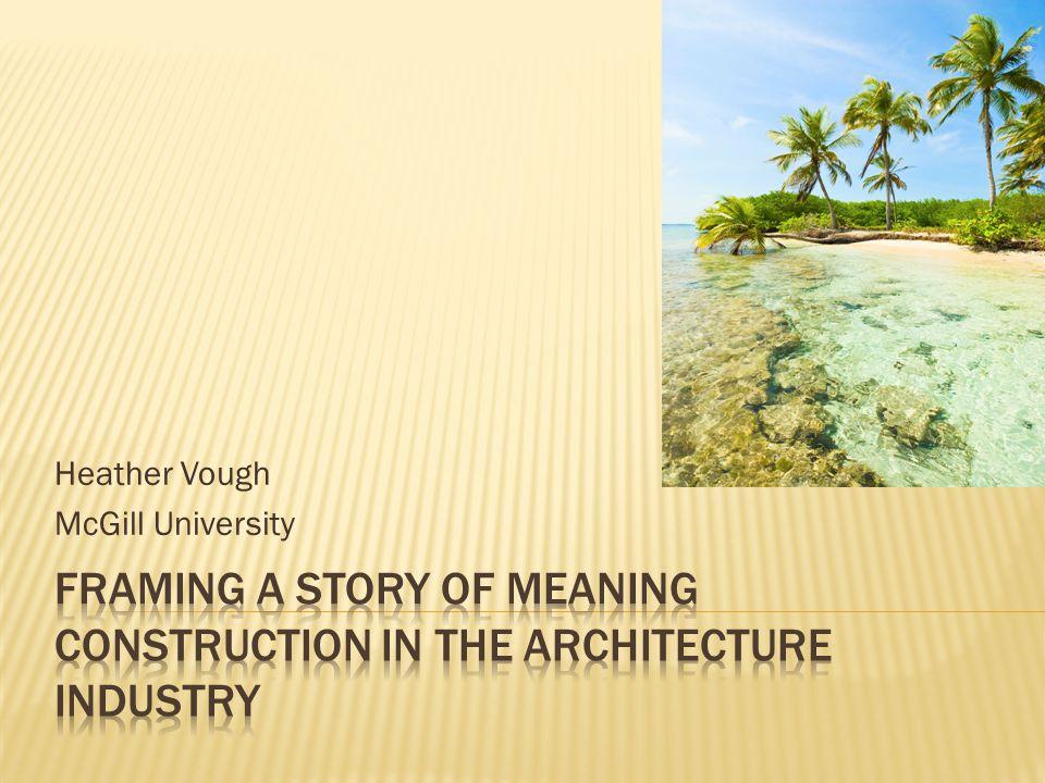 Heather Vough McGill University