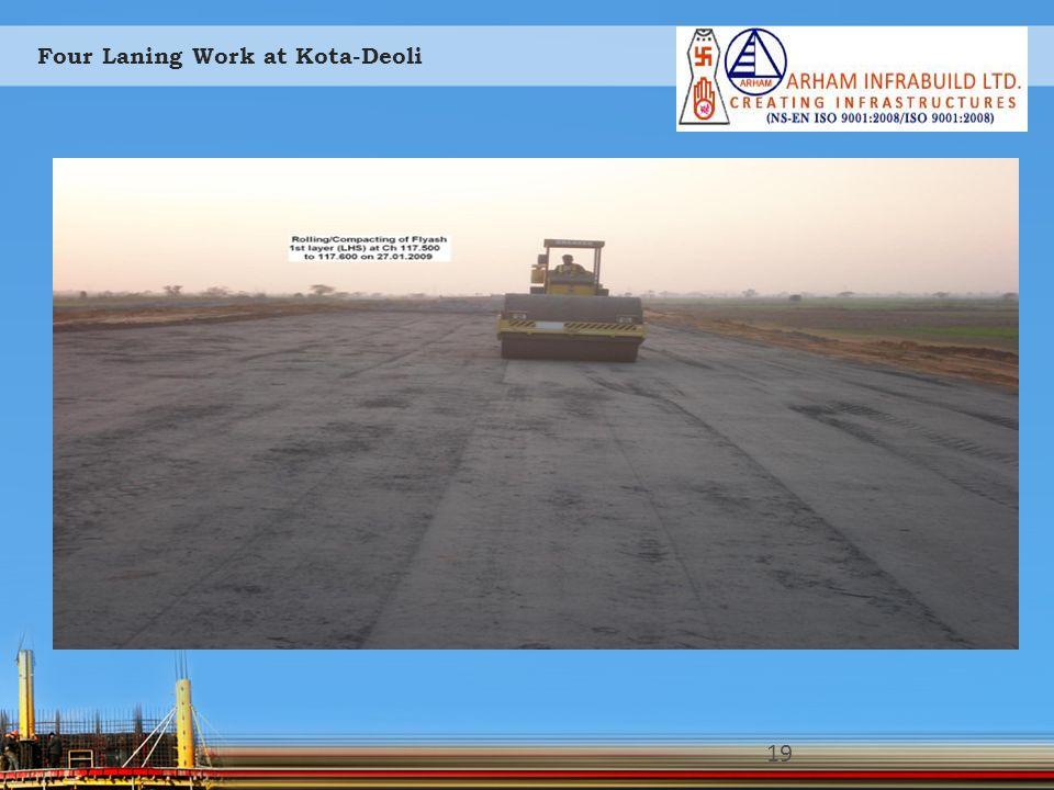 Four Laning Work at Kota-Deoli 19