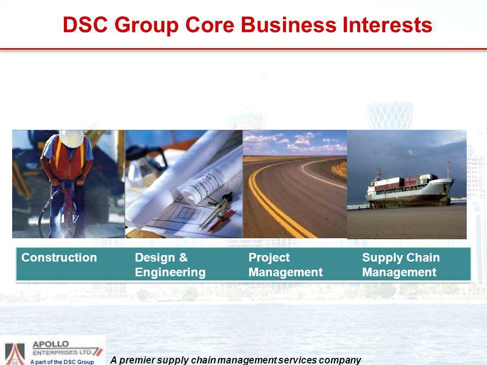 DSC Group Core Business Interests A premier supply chain management services company