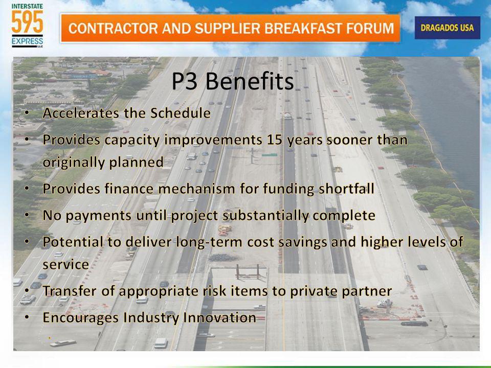 P3 Benefits