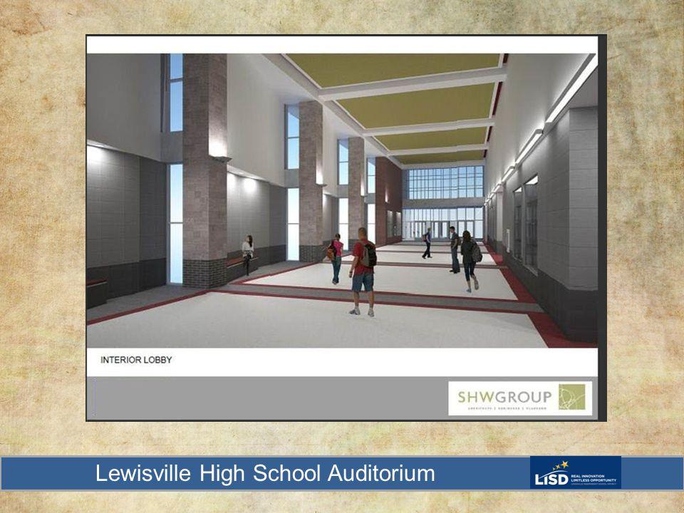 Lewisville High School Auditorium