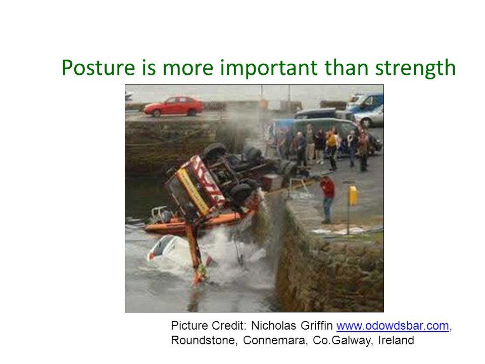 Posture is more important than strength Picture Credit: Nicholas Griffin www.odowdsbar.com,www.odowdsbar.com Roundstone, Connemara, Co.Galway, Ireland
