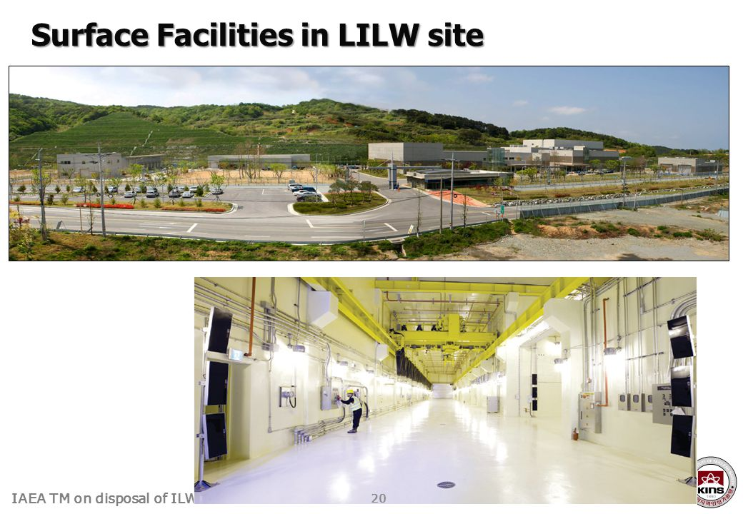IAEA TM on disposal of ILW Surface Facilities in LILW site 20