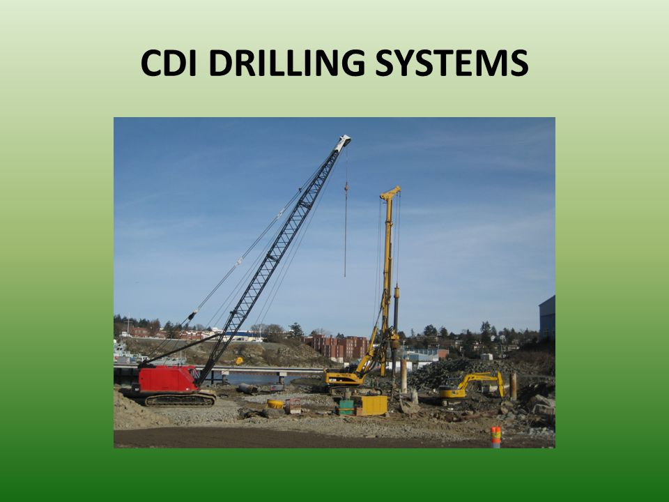 CDI DRILLING SYSTEMS