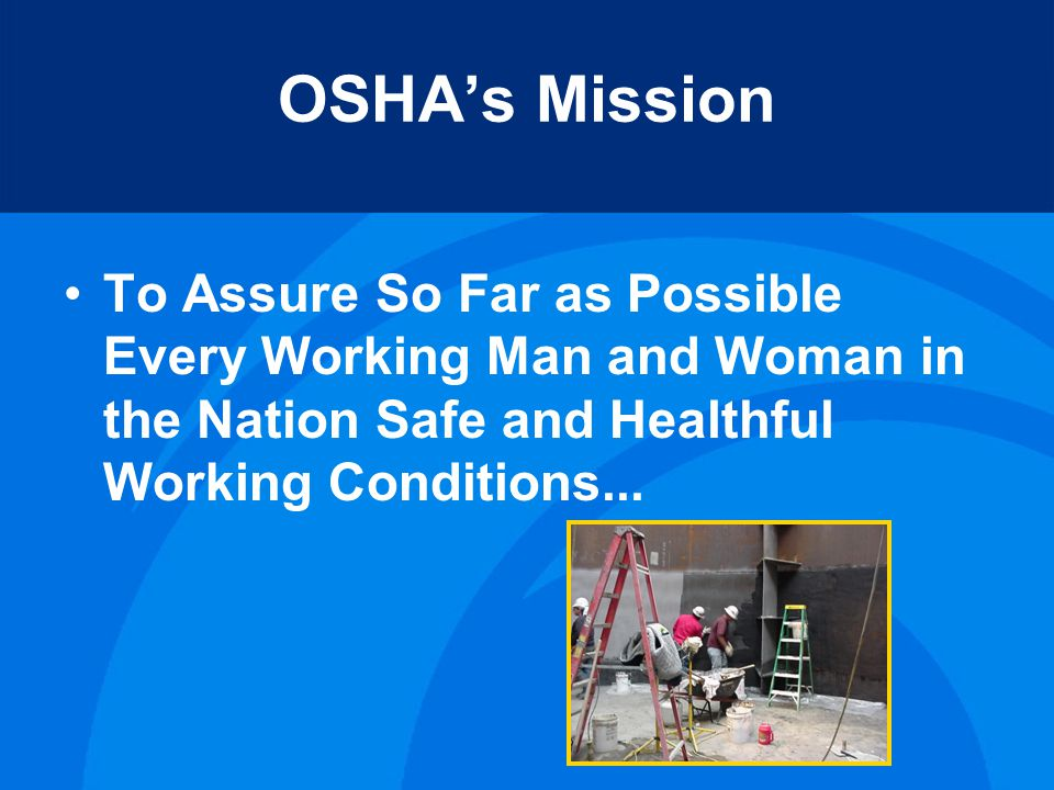 Site Specific Targeting for 2011 Effective Date – September 9, 2011 2010 OSHA Data Initiative - 2009 injury and illness data collected
