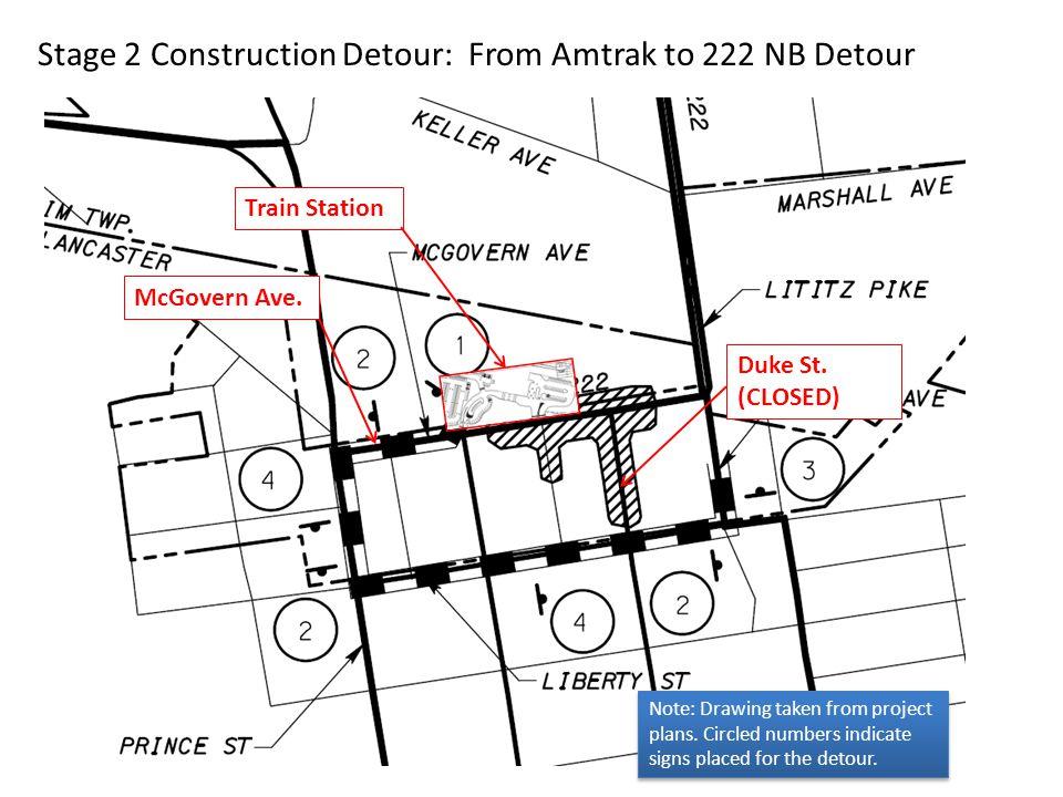 Stage 2 Construction Area: Keller Avenue Impact
