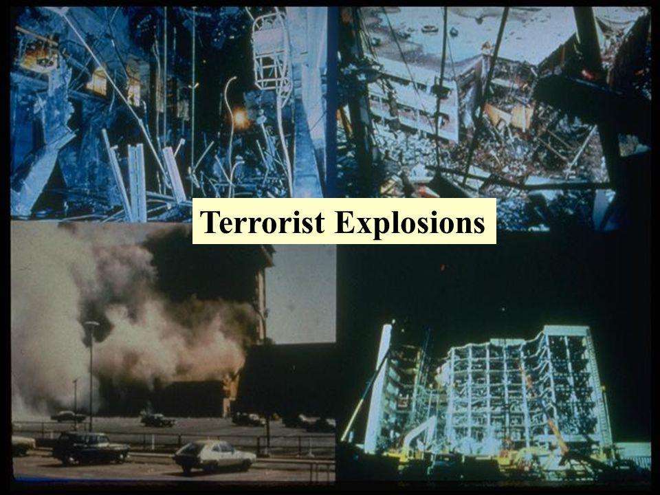 Terrorist Explosions