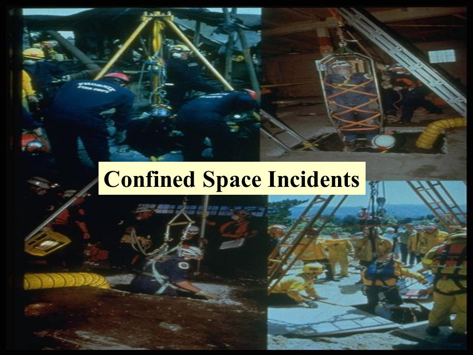 Confined Space Incidents