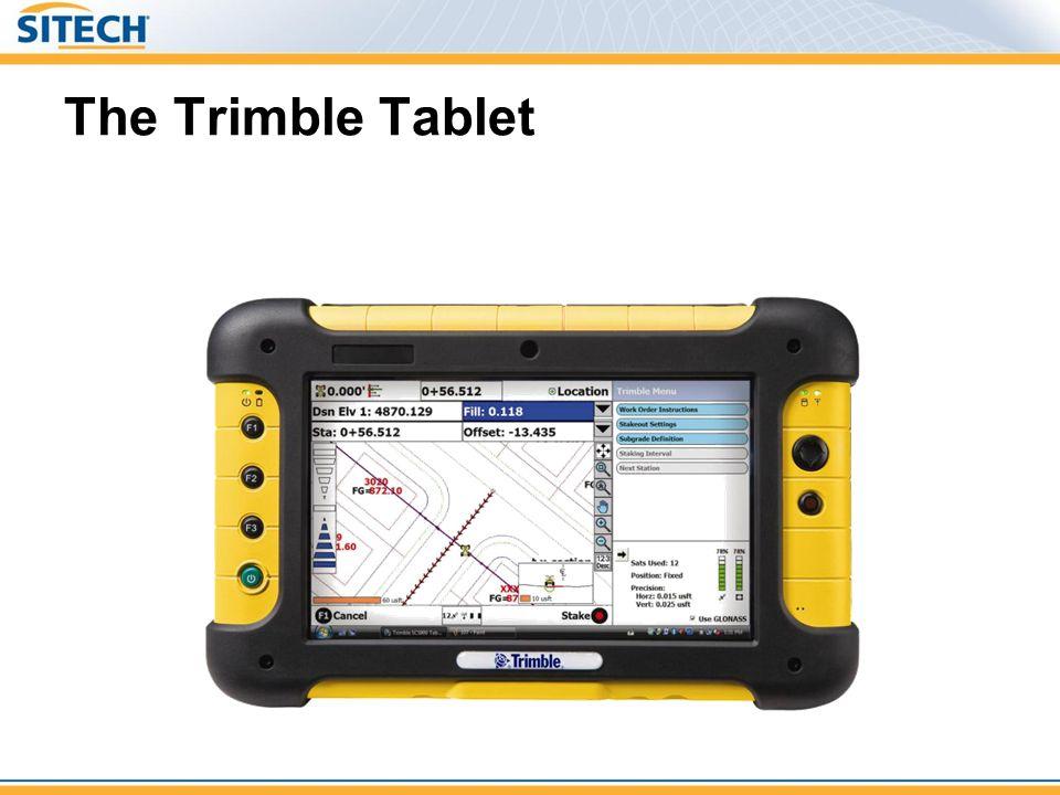 The Trimble Tablet