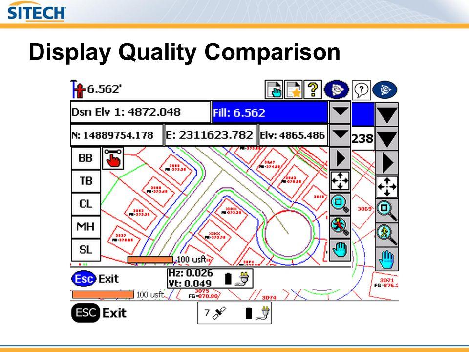 Display Quality Comparison