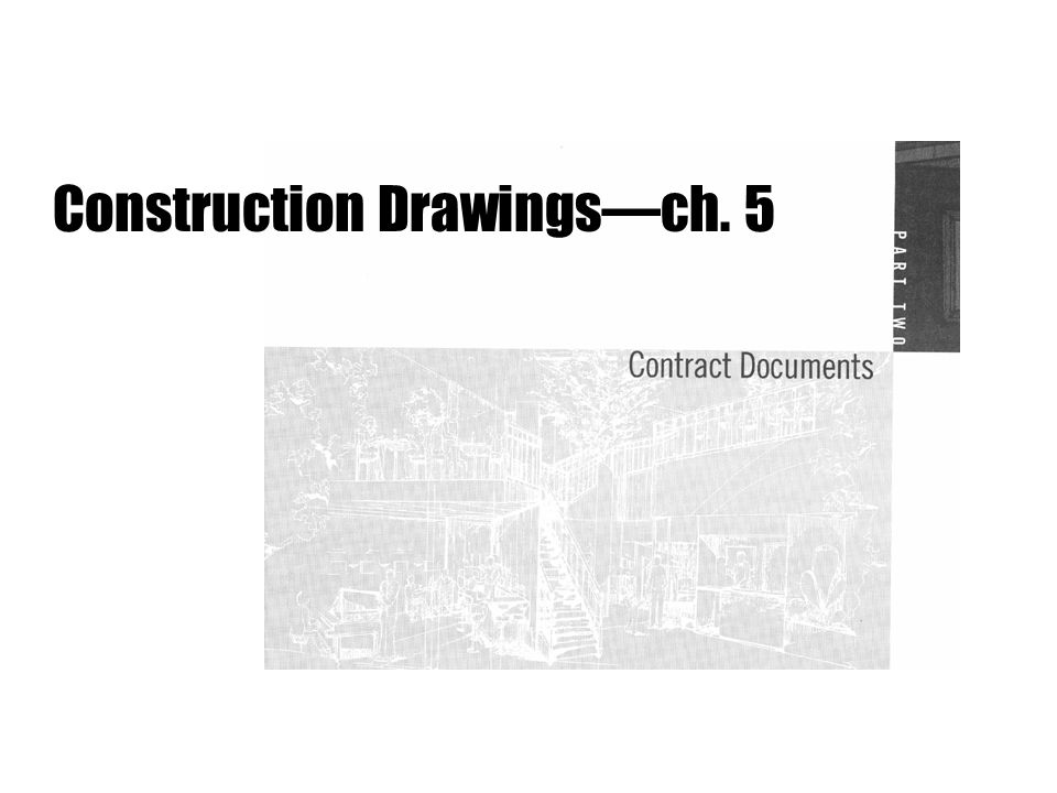 Construction Drawings often called working drawings visually communicate the design and the information required to bring a building or space into reality for everyone who is involved in the building process generally follow a set of architectural drawings conventionswidely accepted in the industrynot just ONE right way 3