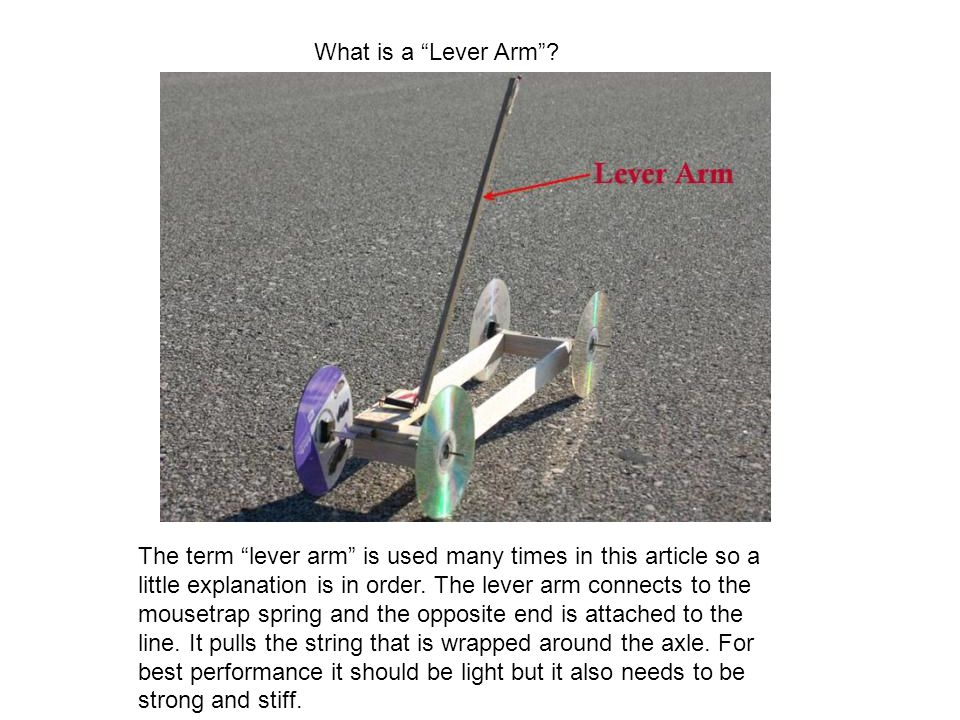 What is a Lever Arm.