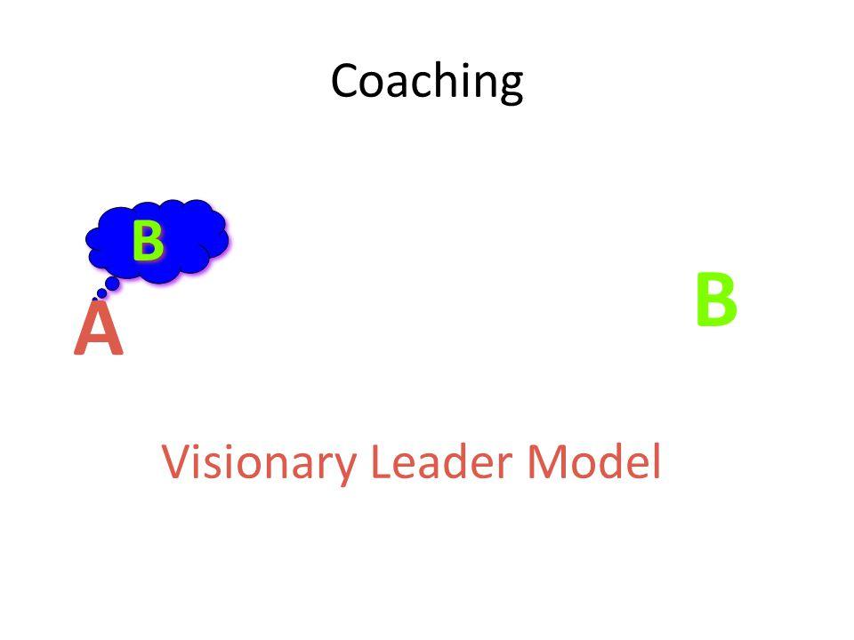 A B B B Visionary Leader Model Coaching