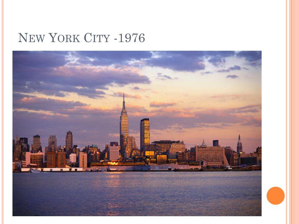 N EW Y ORK C ITY -1976