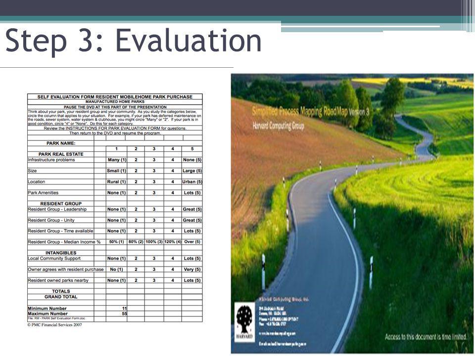 Step 3: Evaluation