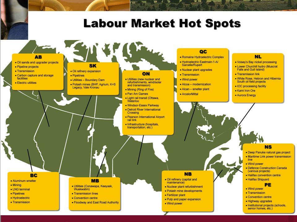 Labour Market Hot Spots