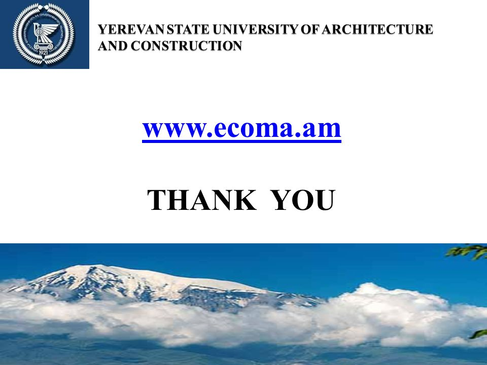 THANK YOU www.ecoma.am
