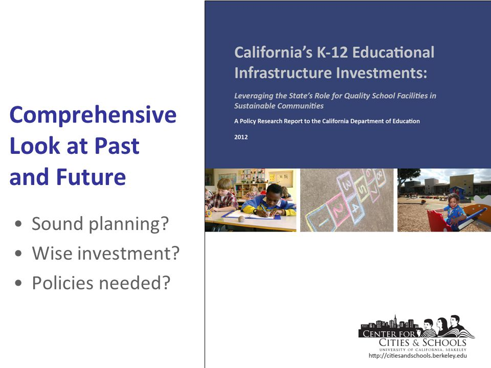 Sound planning? Wise investment? Policies needed? Comprehensive Look at Past and Future