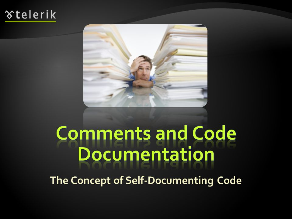 The Concept of Self-Documenting Code