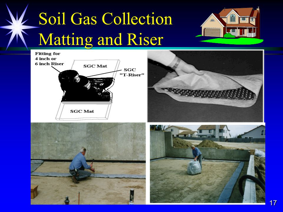 17 Soil Gas Collection Matting and Riser