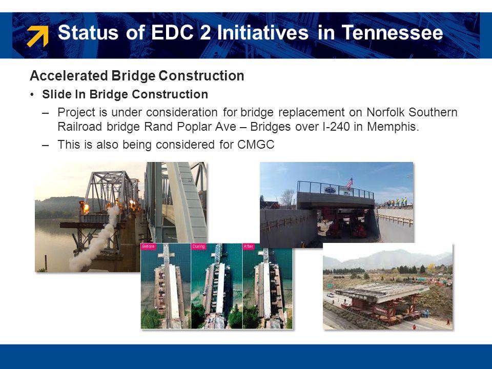 Accelerated Bridge Construction Slide In Bridge Construction –Project is under consideration for bridge replacement on Norfolk Southern Railroad bridg