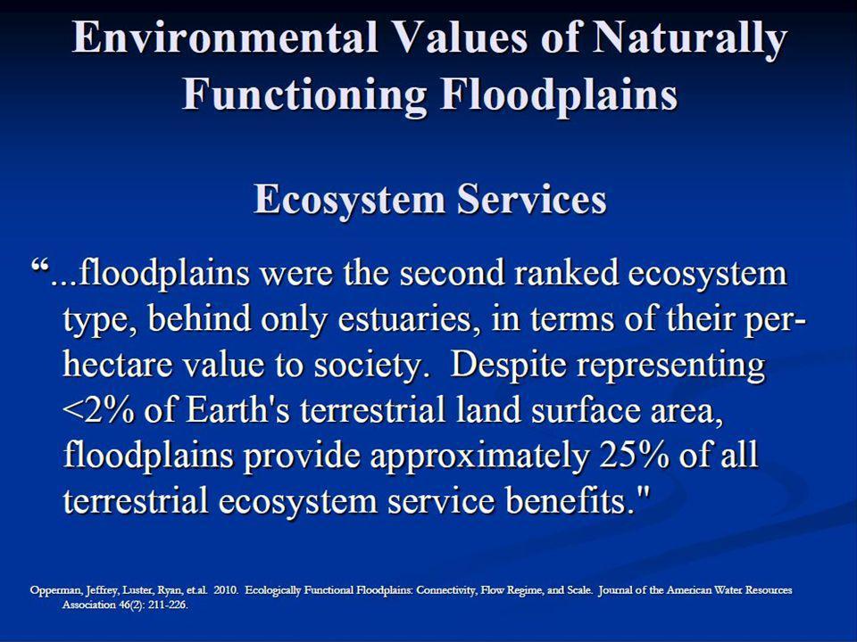 Anthropogenic impacts