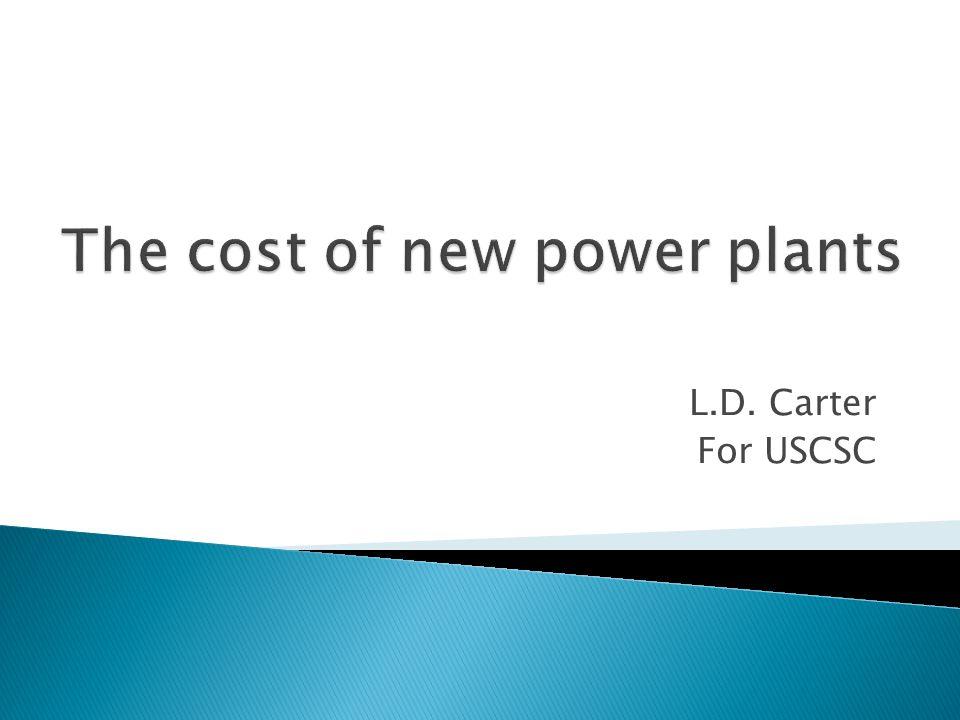 L.D. Carter For USCSC