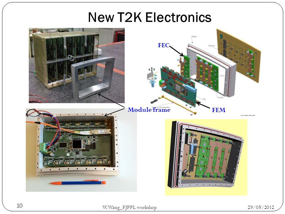 New T2K Electronics 29/05/2012 W.Wang_FJPPL workshop 10 FEM FEC Module frame