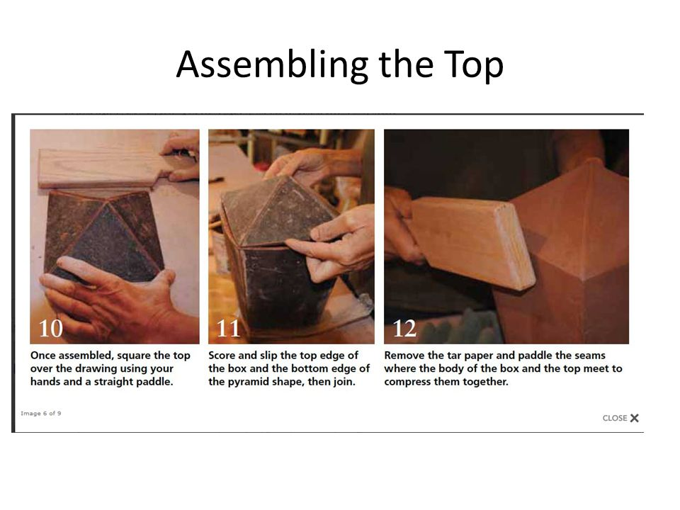 Assembling the Top