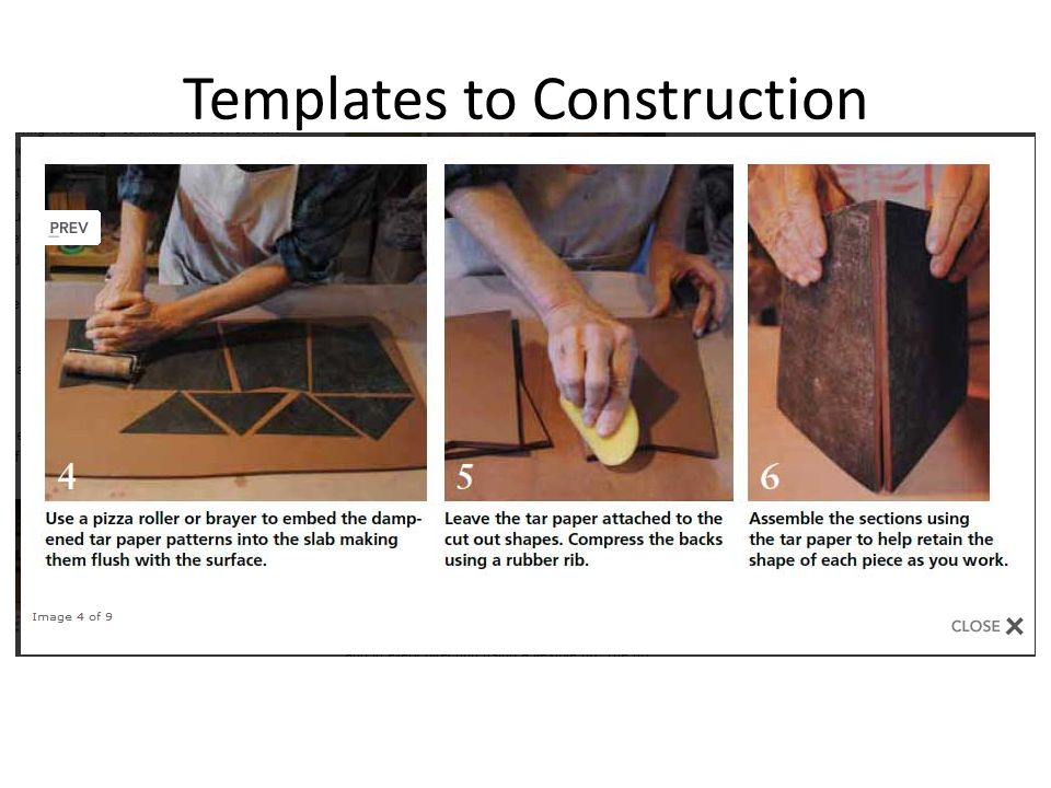 Templates to Construction