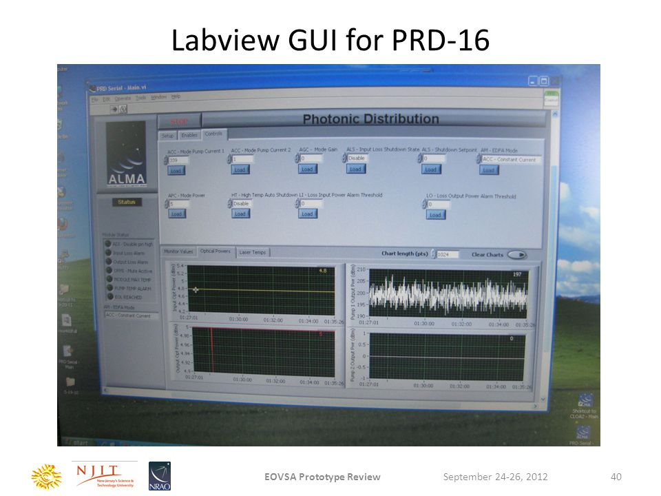 Labview GUI for PRD-16 September 24-26, 2012EOVSA Prototype Review40