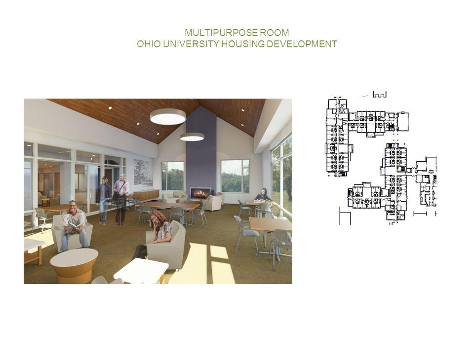 MULTIPURPOSE ROOM OHIO UNIVERSITY HOUSING DEVELOPMENT