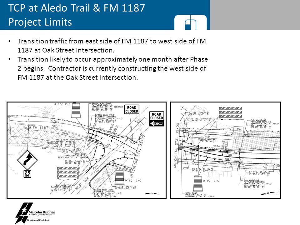 FM 1187 Traffic Control Plan QUESTIONS?