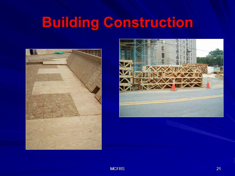 MCFRS 21 Building Construction