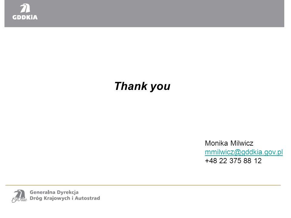 Monika Milwicz mmilwicz@gddkia.gov.pl +48 22 375 88 12