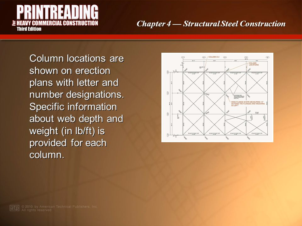 Chapter 4 Structural Steel Construction Columns are commonly constructed using M-, S-, or wide-flange shapes.