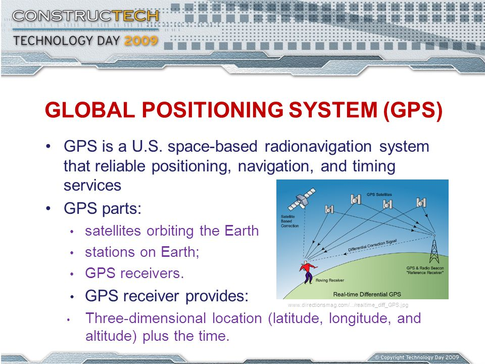 GLOBAL POSITIONING SYSTEM (GPS) GPS is a U.S.
