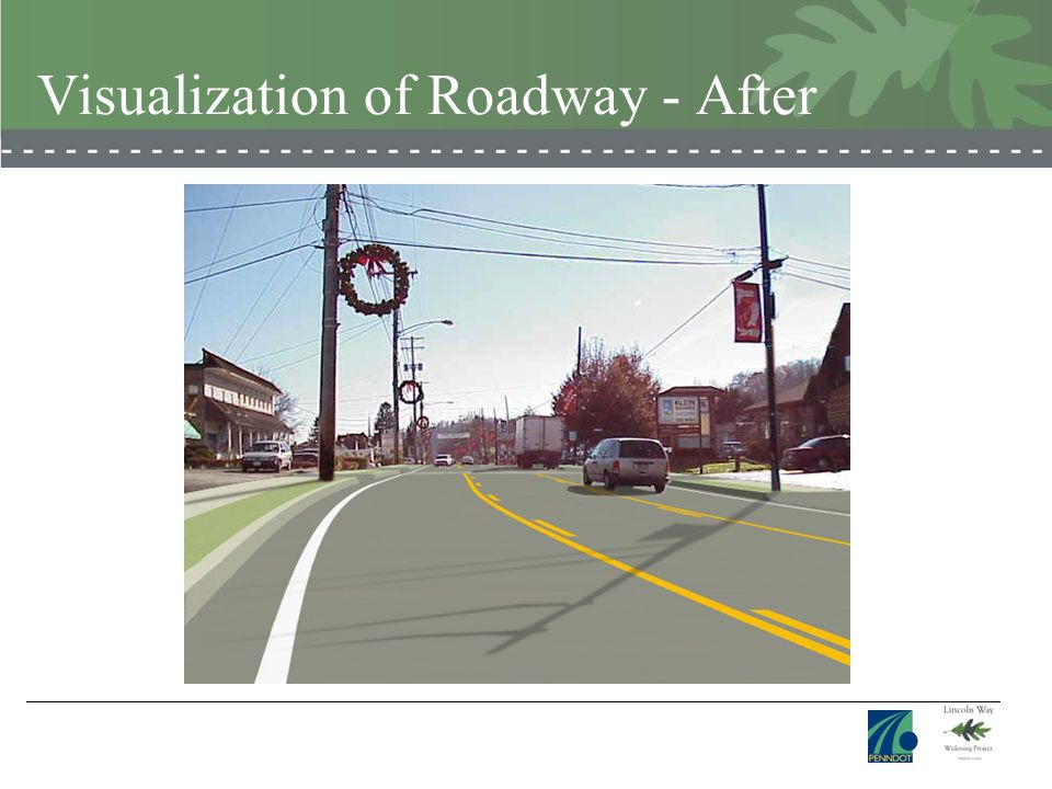 Visualization of Roadway - After