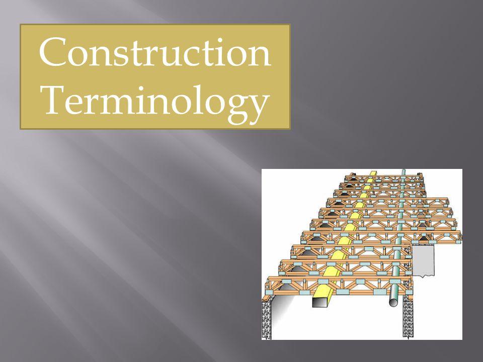 Construction Terminology