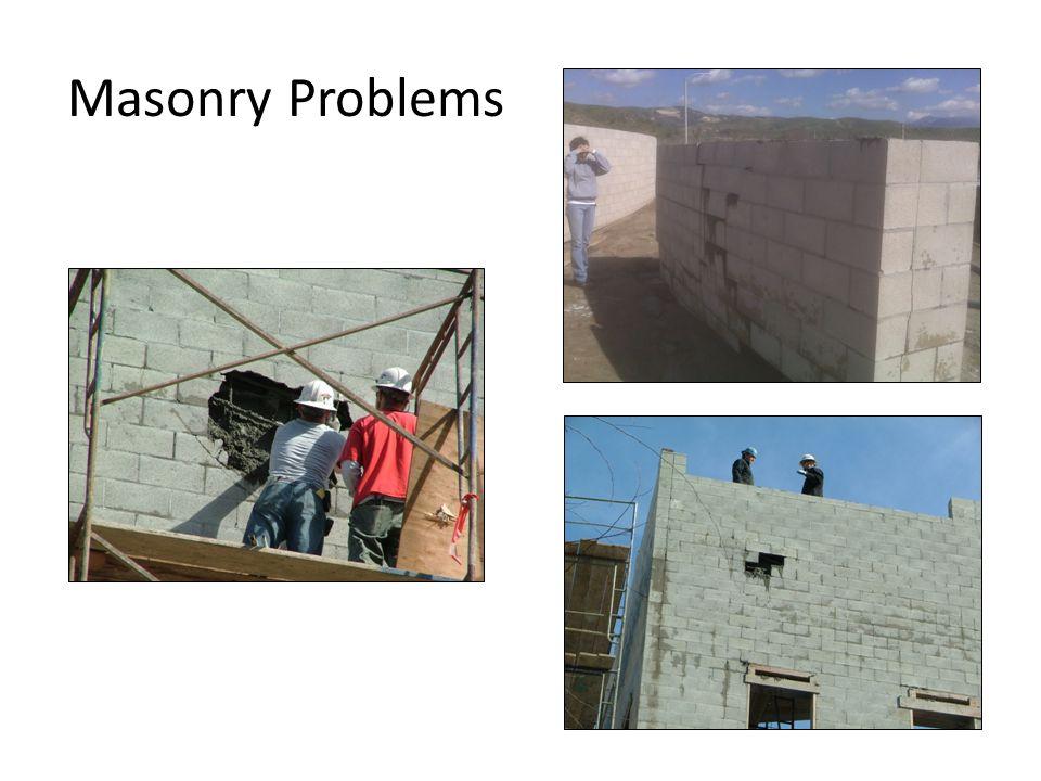 21 Masonry Problems