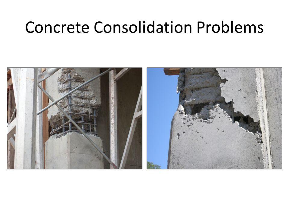 25 Concrete Consolidation Problems