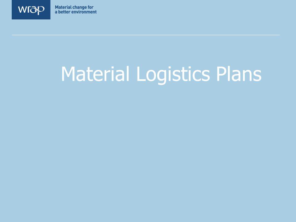 Material Logistics Plans