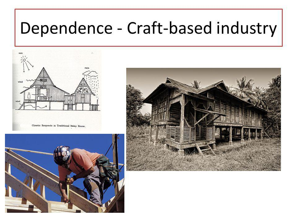 Dependence - Craft-based industry