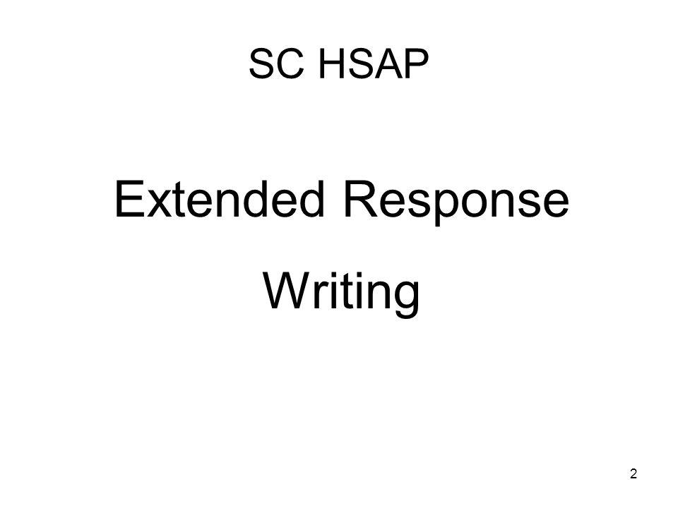 1 SC HSAP Writing ELA