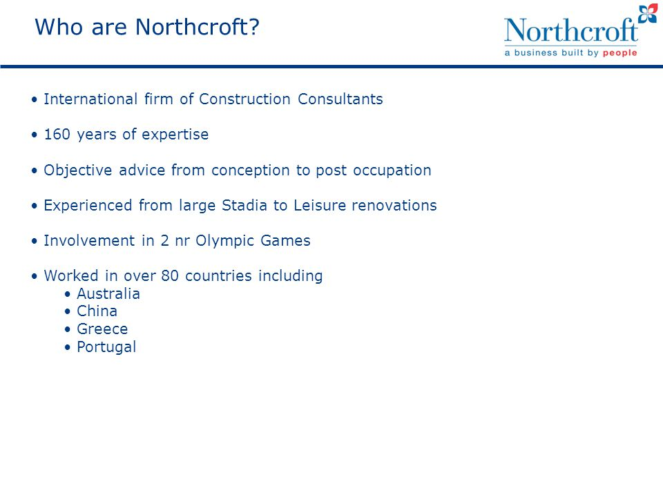 Who are Northcroft.